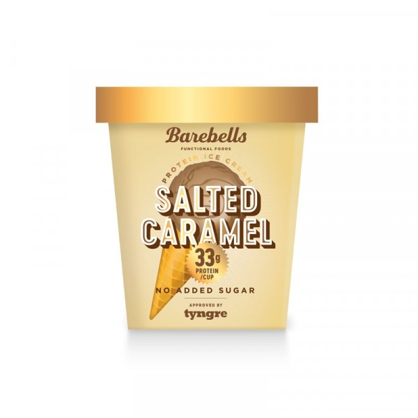 Salted Caramel Ice Cream 6x500ml, Barebells #B4006