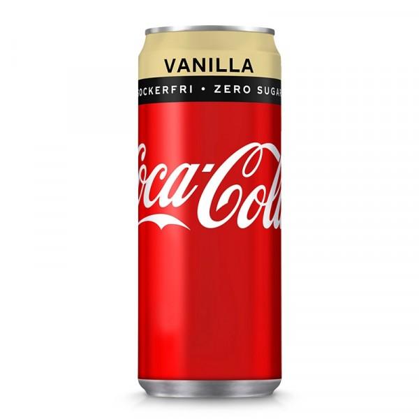 Coca Cola Zero, Vanilj 20x33cl Coca Cola #2860