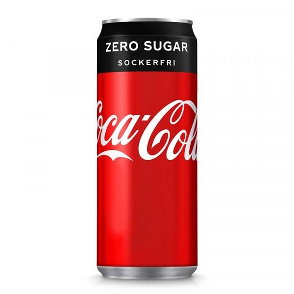 Coca Cola, Zero 20x33cl Coca Cola #2838