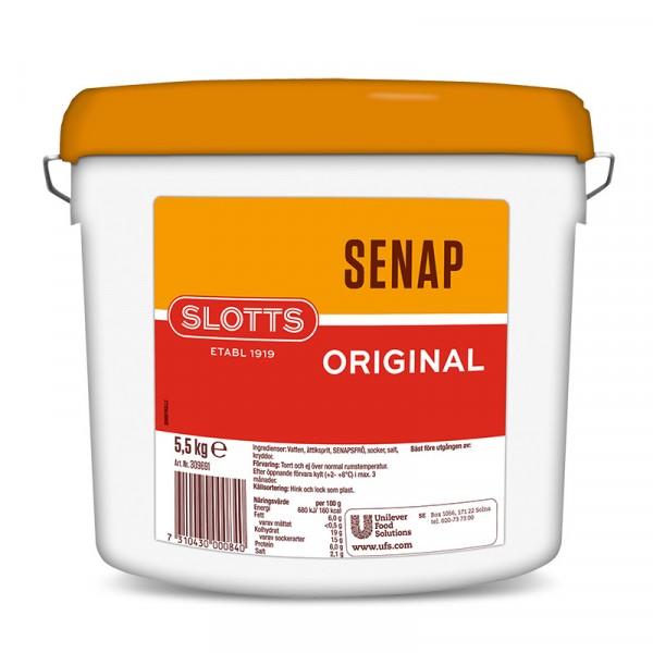 Senap Original 1x5.5kg Slotts #309691
