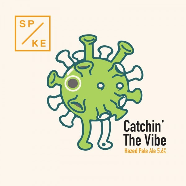 Catchin' The Vibe 5.6% 1x30l SPIKE Brewery #0121K30