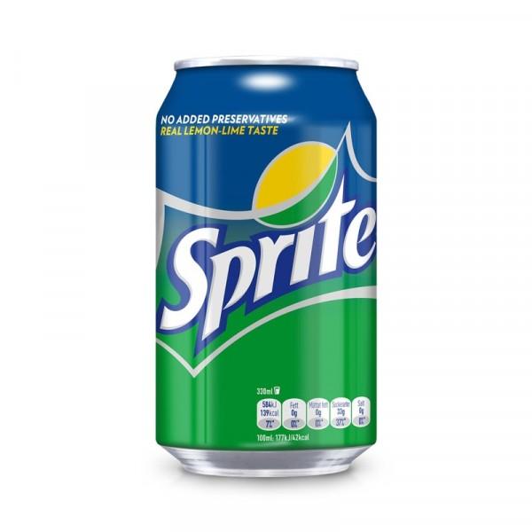 Sprite Original 24x33cl Coca Cola #4511