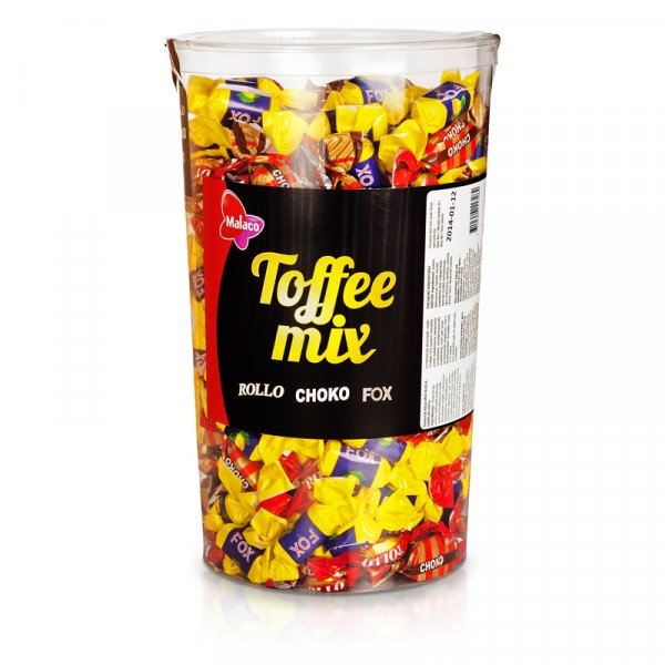 Toffee Mix Tube 1x1758g, Malaco #1001716