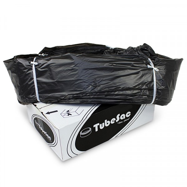"Svart sopsäck Tubesac ""den store"" 100 meter 1x100m NPA Plast #TPS100"