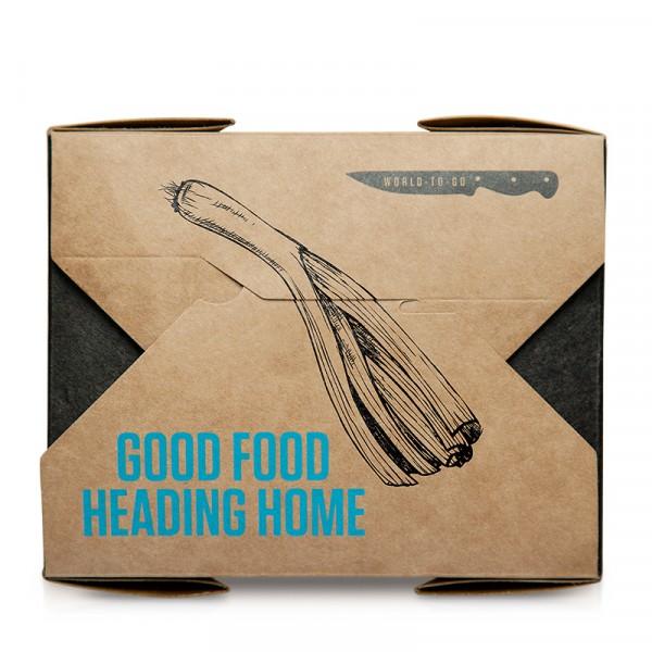Matbox, för streetfood 1x45st Santa Maria #50561