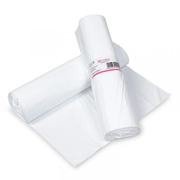 Papperskorgpåse 30 L Vit 10x100st NPA Plast #V3011