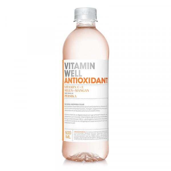 ANTIOXIDANT 12x500ml Vitamin Well #1060