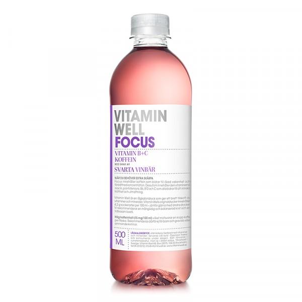FOCUS 12x500ml, Vitamin Well #1040