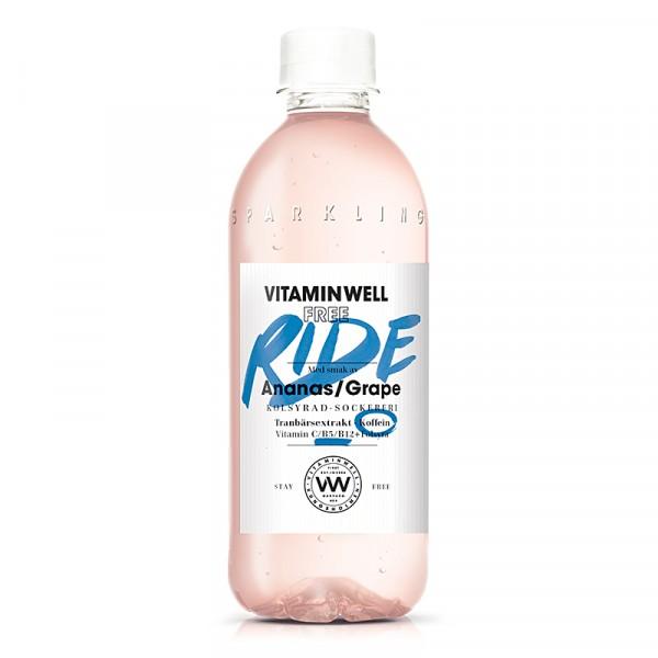 FREE RIDE 12x450ml, Vitamin Well #5050