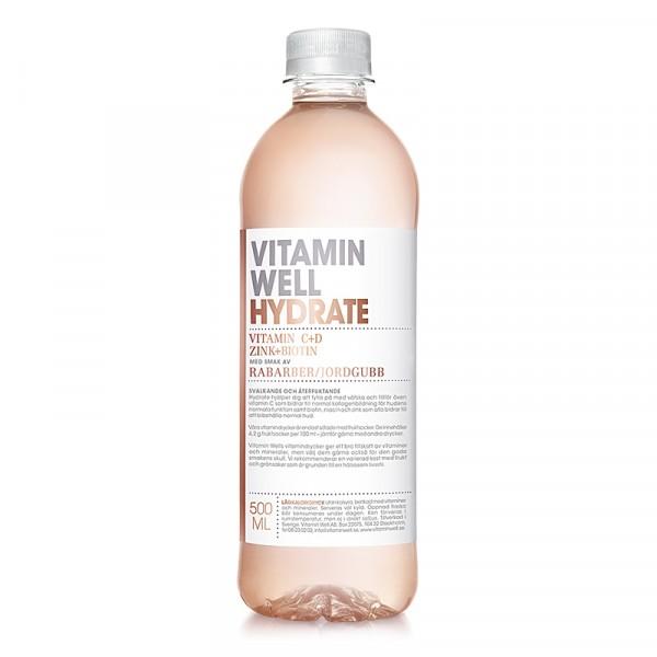 HYDRATE 12x500ml Vitamin Well #1090
