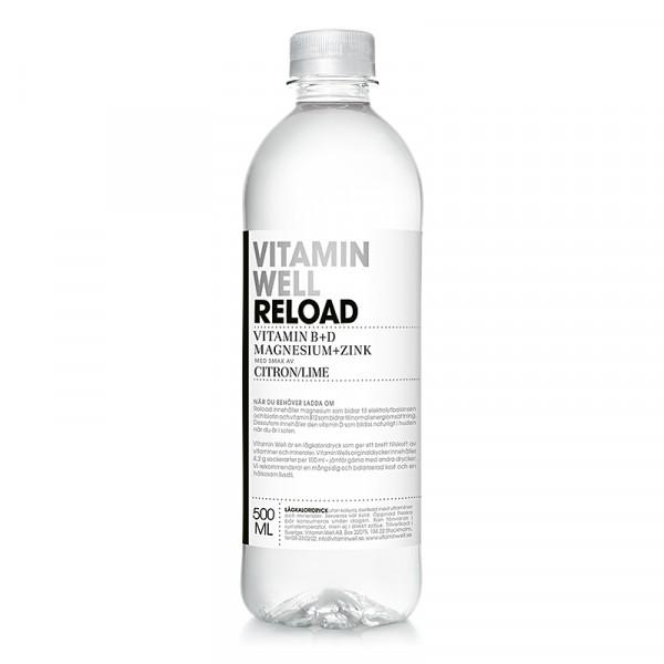RELOAD 12x500ml Vitamin Well #1050