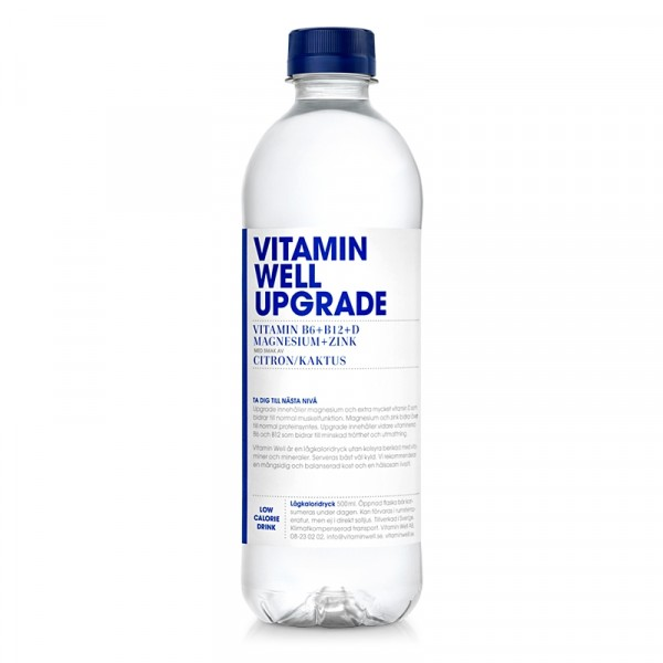UPGRADE 12x500ml Vitamin Well #1100