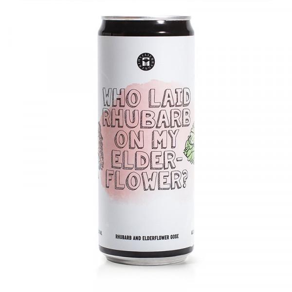 Who Laid Rhubarb on my Elderflower? 4,6% 24x33cl Hyllie Bryggeri #106