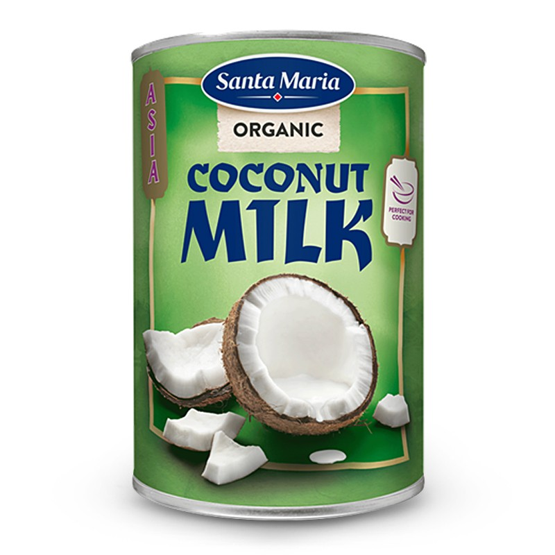 Kokosmjölk, EKO, Santa Maria
