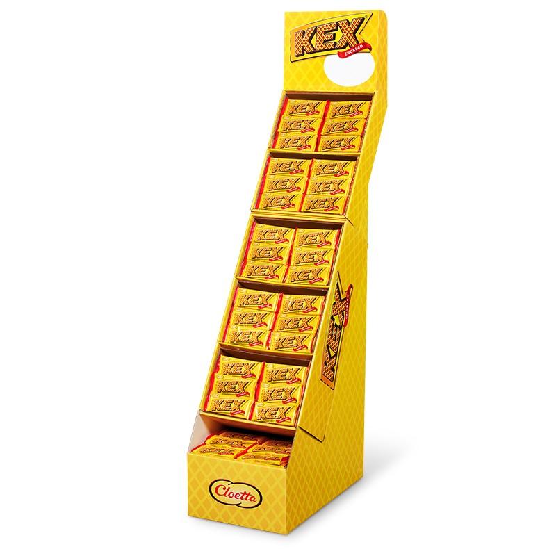 Kexchoklad kvartspall, Cloetta