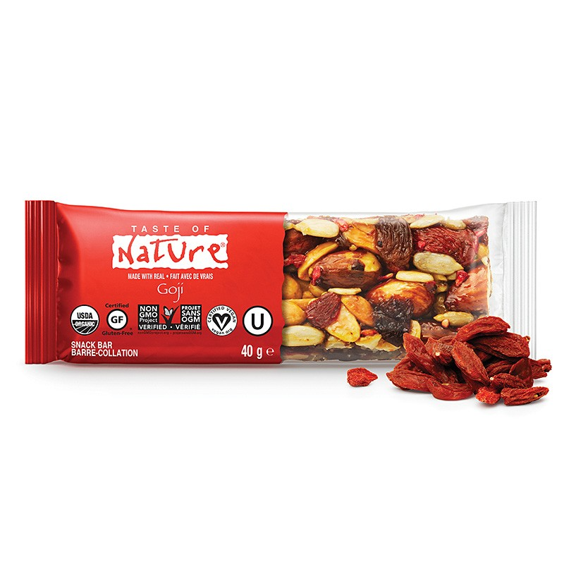 Goji, Bars, Taste of Nature