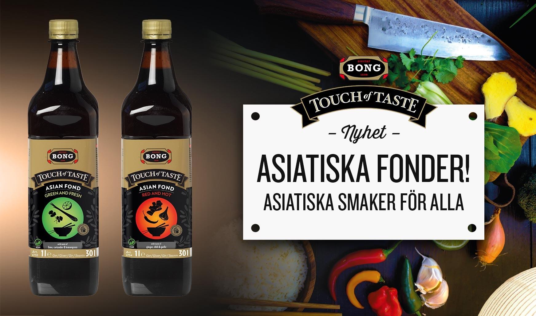 Ny asiatisk fond från Bong