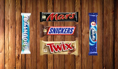 Mars fixar hungern i konfektyravdelningen