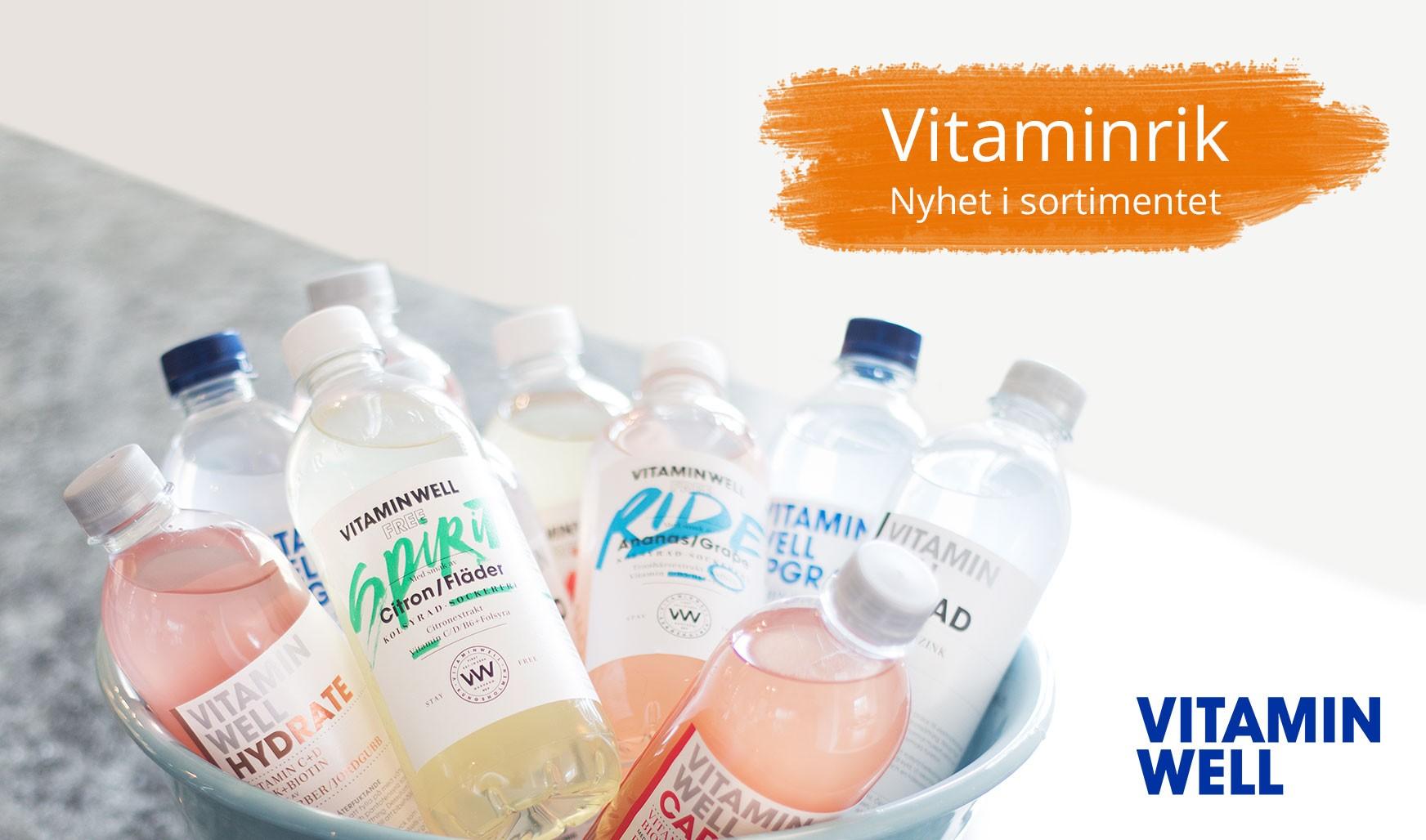Nu finns Vitamin Well på lager!