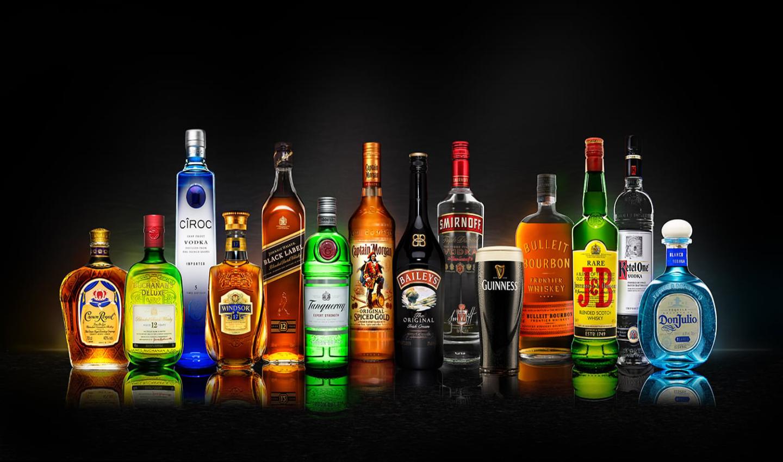 Diageo, en storspelande alkoholproducent.