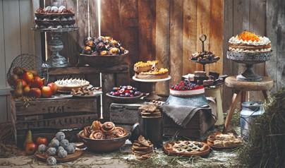 Förgyll fikastunden på café med Gray's Bakery