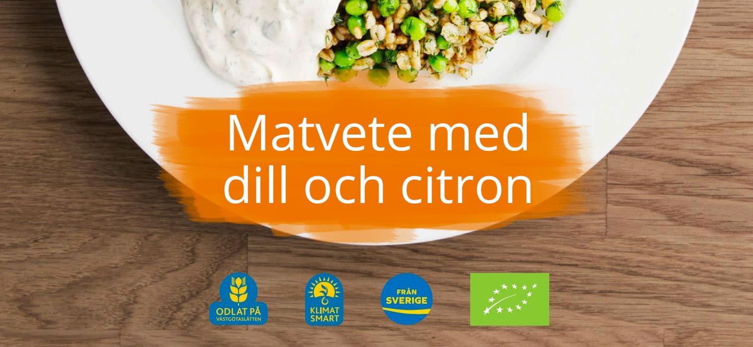 Gôtt recept på matvete från Frebaco Kvarn