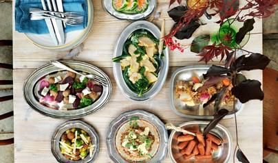 Vegetariskt på julbordet för restauranger 2018